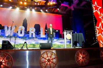 CMWorld 2015 stage
