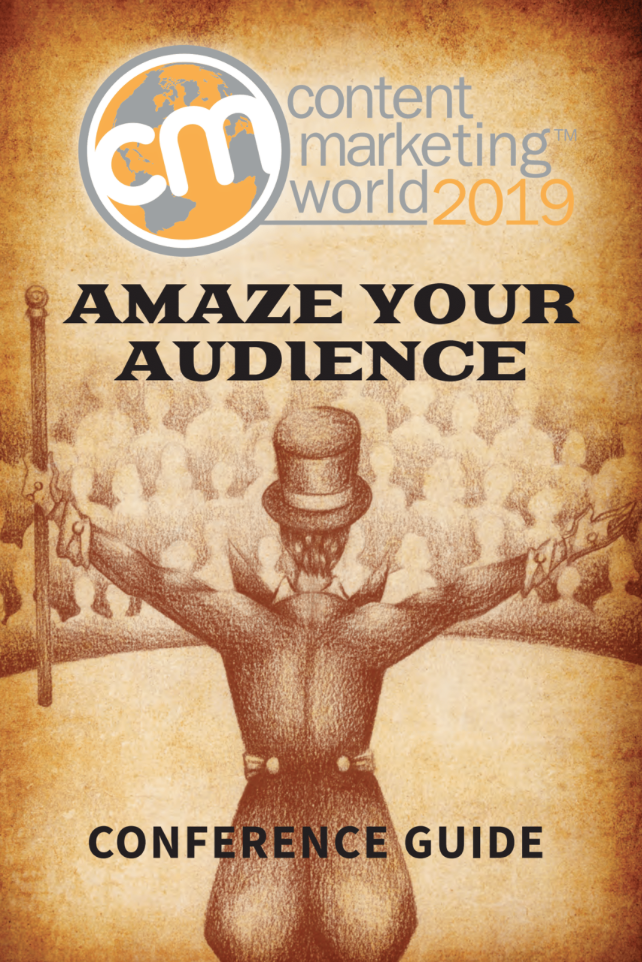 Sustainability and #CMWorld 2019: Orange and Green Go Well Together Content Marketing World