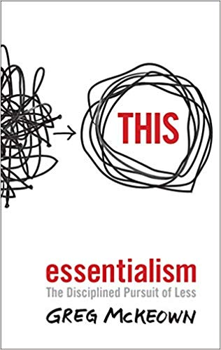 Essentialism cover by greg mckeown