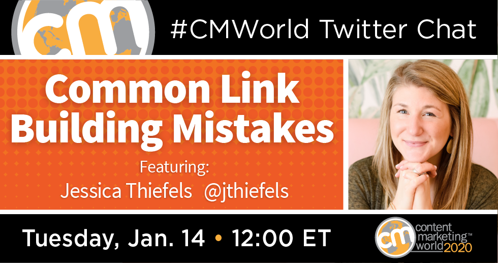A #CMWorld Twitter Chat with Jessica Thiefels Content Marketing World 1