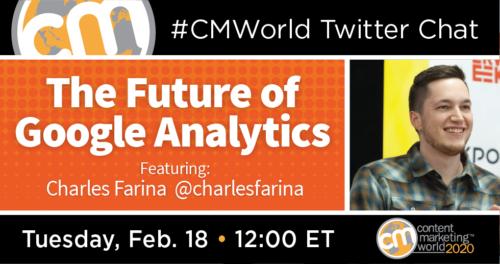 A #CMWorld Twitter Chat with Charles Farina Content Marketing World 1