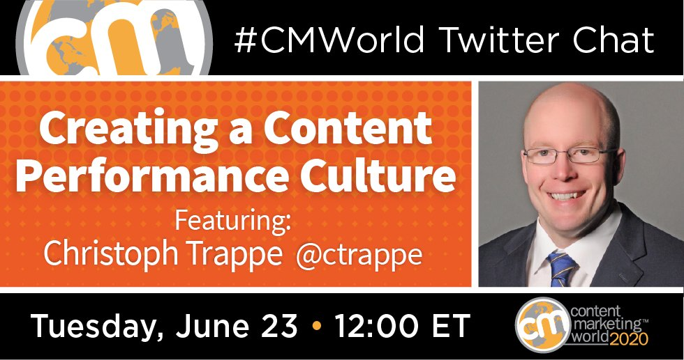 A #CMWorld Twitter Chat with Christoph Trappe Content Marketing World 1