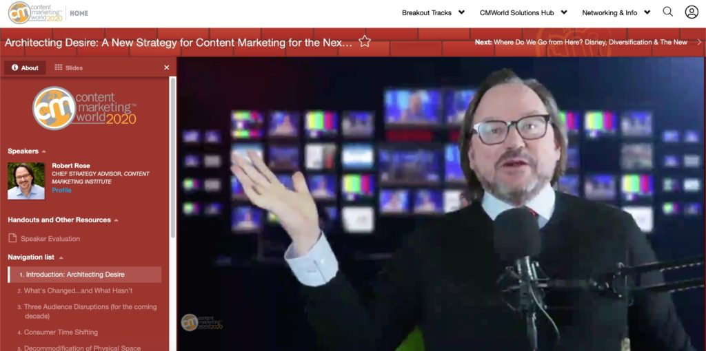 #ThisOldMarketing Episode 247 Content Marketing World 4