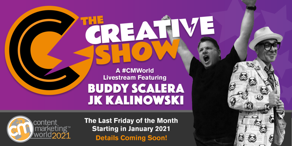 - Content Marketing World Fueling Creativity 4